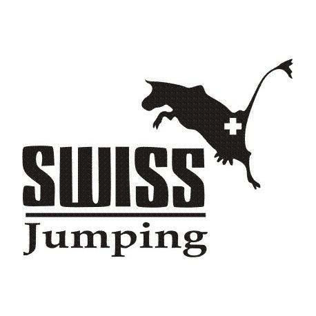 Aufkleber: Aufkleber Swiss Jumping
