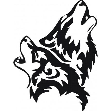 Aufkleber: WOLF Aufkleber 15