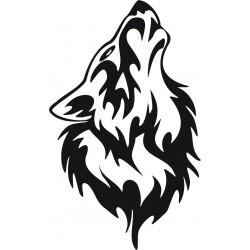 Wolf Aufkleber 16