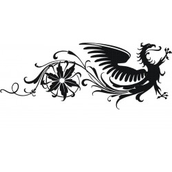Drachen 6 Aufkleber