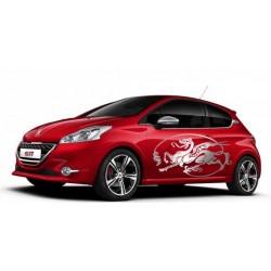 aufkleber autoaufkleber fl�gel, wolf, hund, babyaufkleber autoaufkleber Motive für's auto