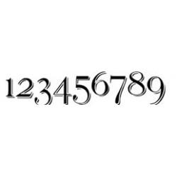 Autoaufkleber: Aufkleber Startnummer 0-9 Beschriftungen, Autoaufkleber, Webetexte, Werbetechnik
