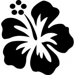 aufkleber autoaufkleber fl�gel, wolf, hund, babyaufkleber Hibiskusblüte Aufkleber 14