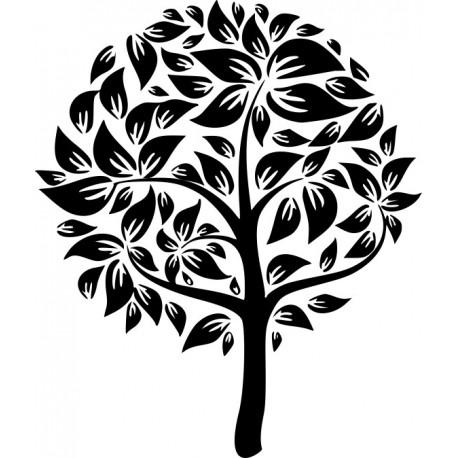 Aufkleber: Baum 3 - Hochzeit