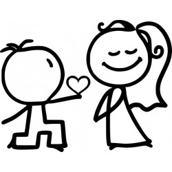 Autoaufkleber: Hochzeit 8 Autoaufkleber Beschriftungen, Autoaufkleber, Webetexte, Werbetechnik