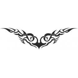 Autoaufkleber: Heckscheibenaufkleber Tattoo 2 Autoaufkleber Tiere, Blumen viele Motive