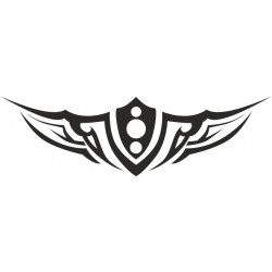 Autoaufkleber: Heckscheibenaufkleber Tattoo 18 Autoaufkleber Tiere, Blumen viele Motive