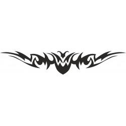 Autoaufkleber: Heckscheibenaufkleber Tattoo 108 Autoaufkleber Tiere, Blumen viele Motive