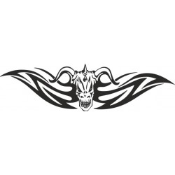 Autoaufkleber: Heckscheibenaufkleber Tattoo 122 Autoaufkleber Tiere, Blumen viele Motive