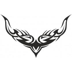 Autoaufkleber: Heckscheibenaufkleber Tattoo 175 Autoaufkleber Tiere, Blumen viele Motive
