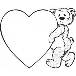 aufkleber autoaufkleber fl�gel, wolf, hund, babyaufkleber Teddy 6