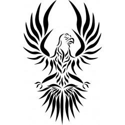 aufkleber autoaufkleber fl�gel, wolf, hund, babyaufkleber Adler Aufkleber 2