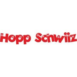 Hopp Schwiiz Autoaufkleber 1