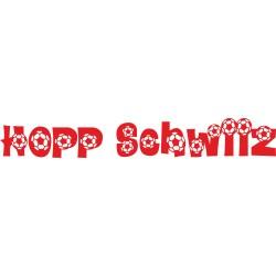 Hopp Schwiiz Autoaufkleber 2