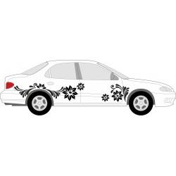 aufkleber autoaufkleber fl�gel, wolf, hund, babyaufkleber Blumen Aufkleber selber gestalten 1