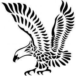 aufkleber autoaufkleber fl�gel, wolf, hund, babyaufkleber Adler Aufkleber 4