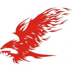 aufkleber autoaufkleber fl�gel, wolf, hund, babyaufkleber Adler Aufkleber 5