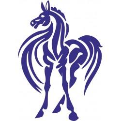 Autoaufkleber: Pferd  29 Aufkleber, Folie, Autofolie, selber gestalten, Aufkleber Motorhaube