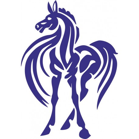 Aufkleber: Pferd Aufkleber 29