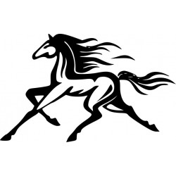 Pferd Aufkleber 33