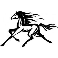 Autoaufkleber: Pferd  33 Aufkleber, Folie, Autofolie, selber gestalten, Aufkleber Motorhaube