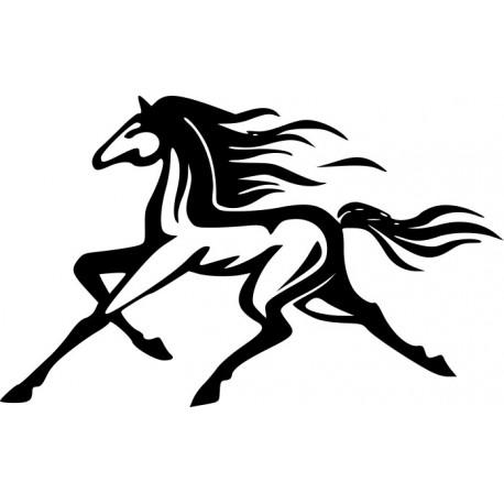 Aufkleber: Pferd Aufkleber 33