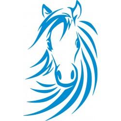 Autoaufkleber: Pferd  32 Pferdekopf Aufkleber, Folie, Autofolie, selber gestalten, Aufkleber Motorhaube