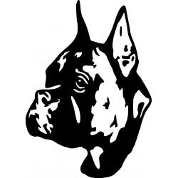 Autoaufkleber: Hund-Aufkleber Hund Aufkleber