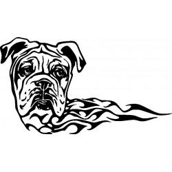 Autoaufkleber: Hund 2-Aufkleber Aufkleber Hund