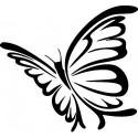 Schmetterling Aufkleber
