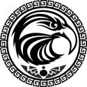 Maori und Tattoo Heckscheibe